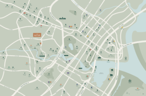 The-Avenir-condo-freehold-Location-Map-singapore