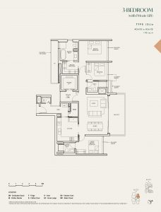 The-Avenir-Floor-Plan-2-bedroom-type-2b-singapore