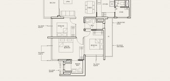 The-Avenir-Floor-Plan-3-bedroom-type-3a-singapore