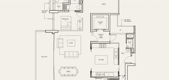 The-Avenir-condo-Floor-Plan-4-bedroom-private-lift-type-(4+1)a-singapore