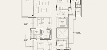 The-Avenir-condo-Floor-Plan-4-bedroom-private-lift-type-4b-singapore