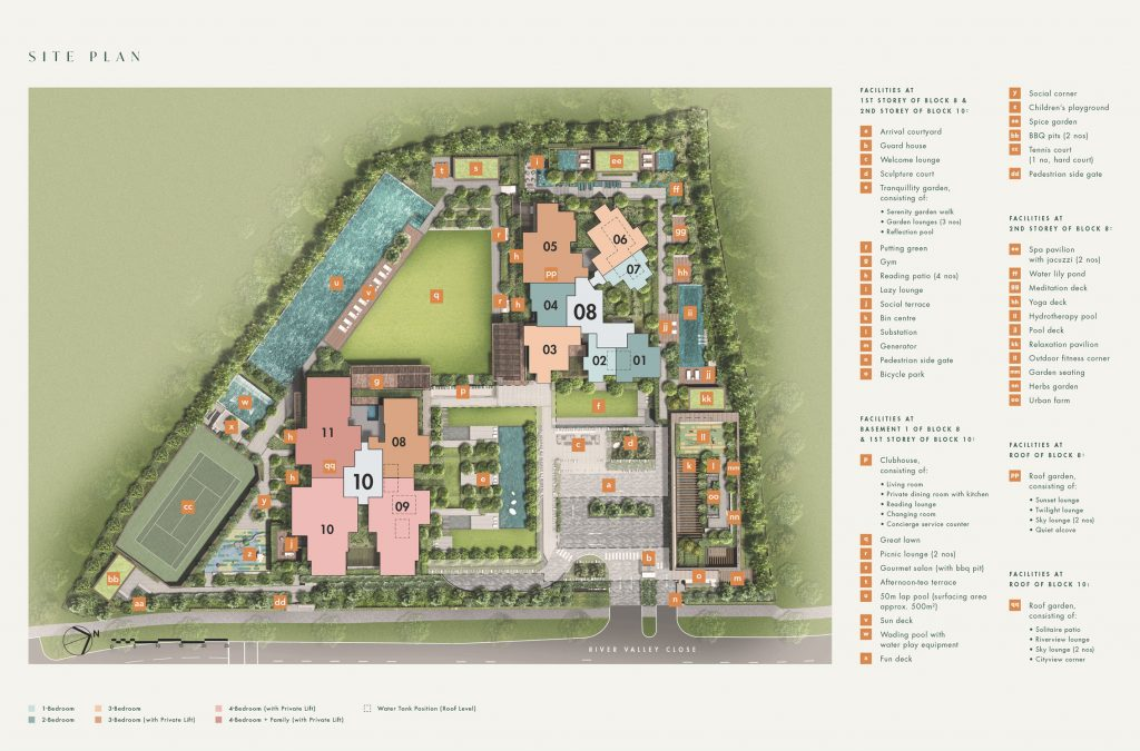 The-Avenir-condo-Site-Plan